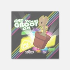 "GOTG Get Your Groot On Square Sticker 3"" x 3"""