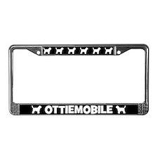 Ottiemobile Otterhound License Plate Frame