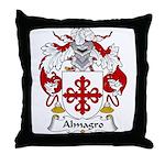 Almagro Family Crest Throw Pillow