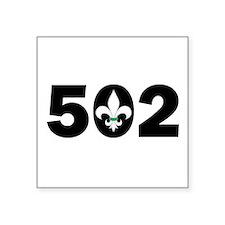 """Unique 502 Square Sticker 3"""" x 3"""""""