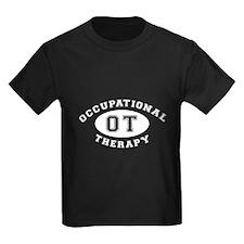 Occupational Therapy Ladies Cut Dark T-Shirt