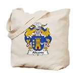Alicante Family Crest Tote Bag