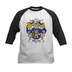 Alicante Family Crest Kids Baseball Jersey