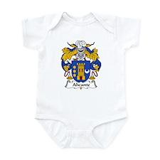 Alicante Family Crest Infant Bodysuit