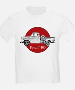 Vintage F-100 Ford Pickup Truck T-Shirt