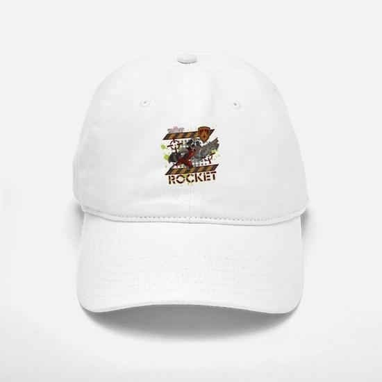 GOTG Rocket Cartoon Danger Baseball Baseball Cap