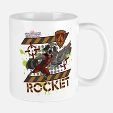 GOTG Rocket Cartoon Danger Mug
