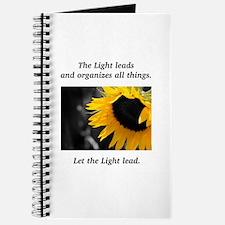 Sunflower Light Leadership Gifts Journal