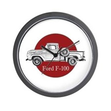 Vintage F-100 Ford Pickup Truck Wall Clock