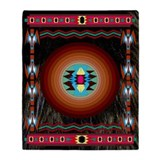 American indian Fleece Blankets