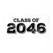 Class of 2046 Aluminum License Plate