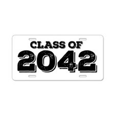 Class of 2042 Aluminum License Plate