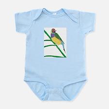 Gouldian Finch Body Suit