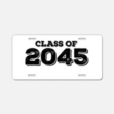 Class of 2045 Aluminum License Plate