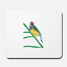 Gouldian Finch Mousepad