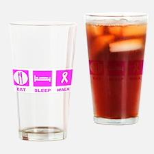 Cool Im survivor Drinking Glass