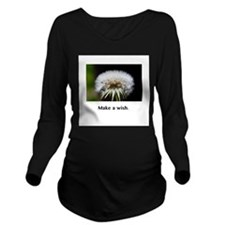 Make A Wish Magical Gifts Long Sleeve Maternity T-