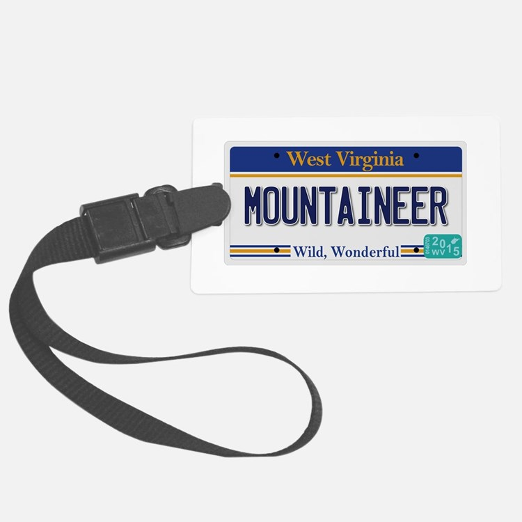 West Virginia - Mountaineer Luggage Tag