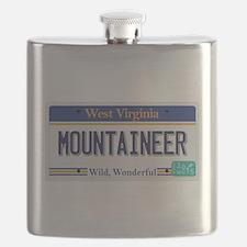 West Virginia - Mountaineer Flask