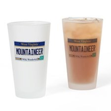 West Virginia - Mountaineer Drinking Glass