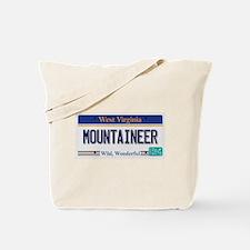 West Virginia - Mountaineer Tote Bag