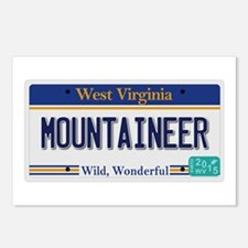 West Virginia - Mountaine Postcards (Package of 8)