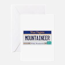 West Virginia - Mountaineer Greeting Card