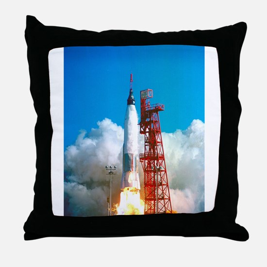 Launch of Project Mercury's Friendship 7 Throw Pil