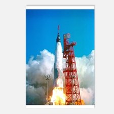 Launch Project Mercury's Postcards (package Of