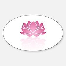 Pink Lotus Decal