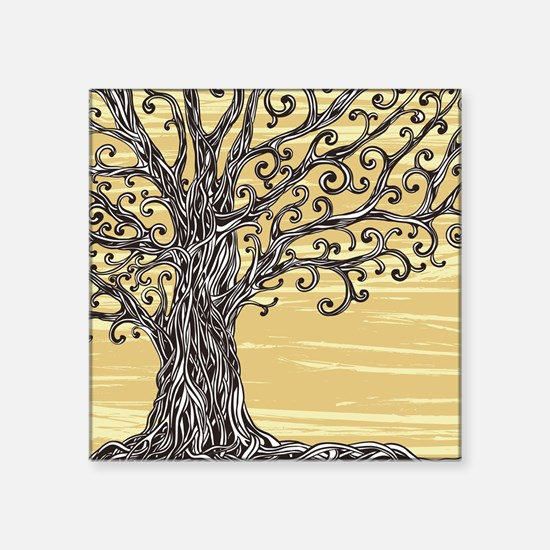 Tree Art Sticker