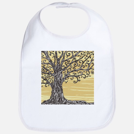 Tree Art Bib