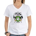 Alcolea Family Crest Women's V-Neck T-Shirt
