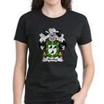 Alcolea Family Crest Women's Dark T-Shirt
