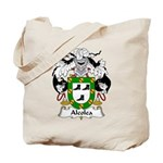 Alcolea Family Crest Tote Bag