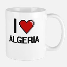 I Love Algeria Digital Design Mugs