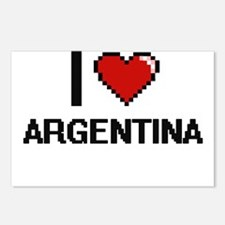 I Love Argentina Digital Postcards (Package of 8)