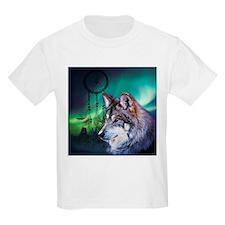 dream catcher northern light wolf T-Shirt