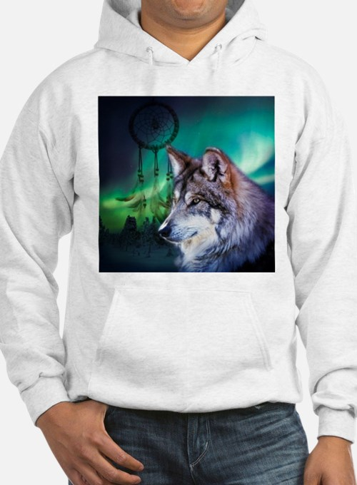 dream catcher northern light wol Hoodie