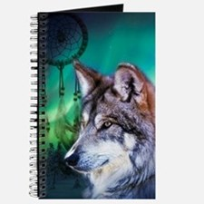 dream catcher northern light wolf Journal