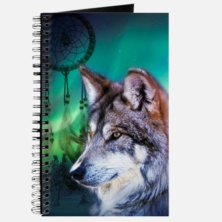 dream catcher northern light wolf Journal