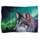 Wolf northern Pillow Sham