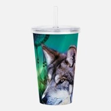 dream catcher northern Acrylic Double-wall Tumbler