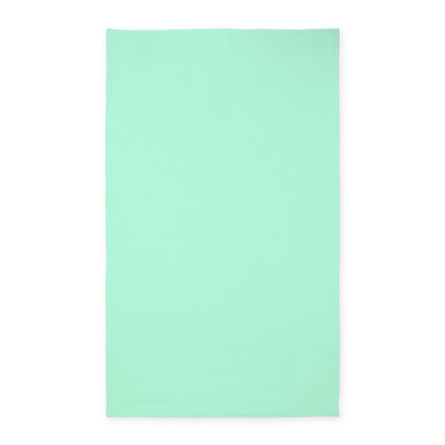 Solid Mint Green Area Rug By Leatherwoodbedroomduvet