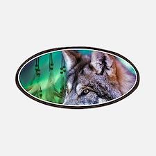 dream catcher northern light wolf Patch