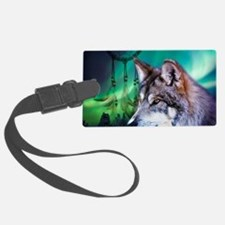 dream catcher northern light wol Luggage Tag