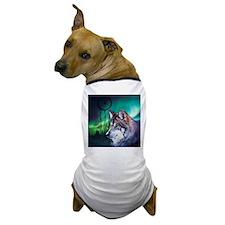 dream catcher northern light wolf Dog T-Shirt