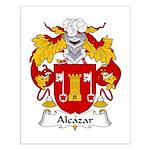 Alcazar Family Crest Small Poster