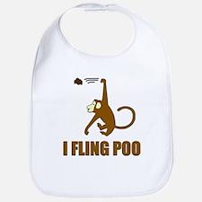 I Fling Poo Bib