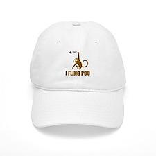 I Fling Poo Baseball Baseball Cap
